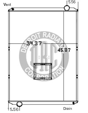 Detroit Radiator Corporation Heavy Duty Truck Radiators ... on